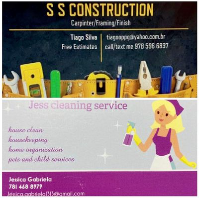 Avatar for S.S. Construction and Jess Cleaning Service