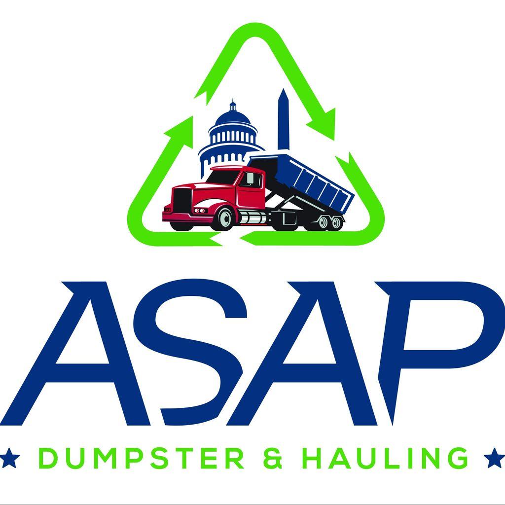 ASAP DUMPSTER & HAULING