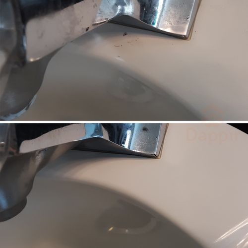 Dappir Cleaning - Faucet Nozzle Cleaning