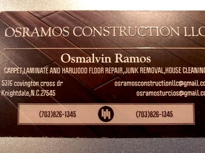 Avatar for Osramos Construction llc