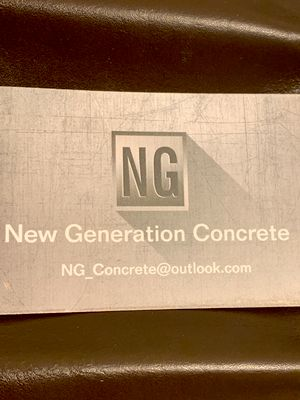 Avatar for New Generation Concrete