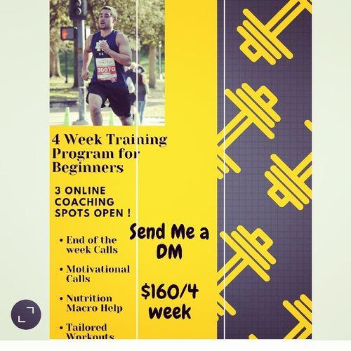 4 Week Training Program