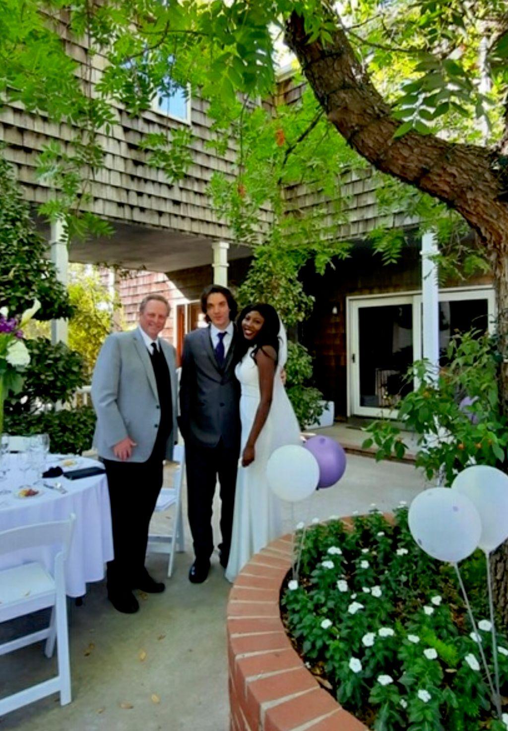 Wedding Officiant - Davis 2020