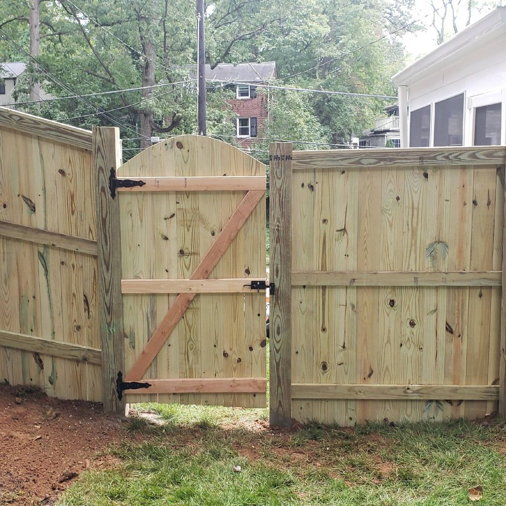 Quick fencing and landscapes