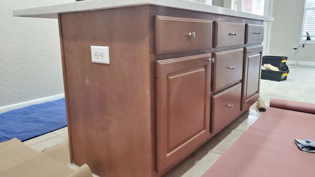 cabinet painting
