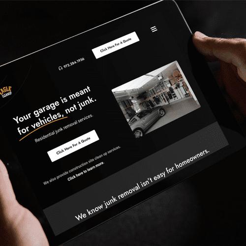 Eagle Cleanup DFW - Website