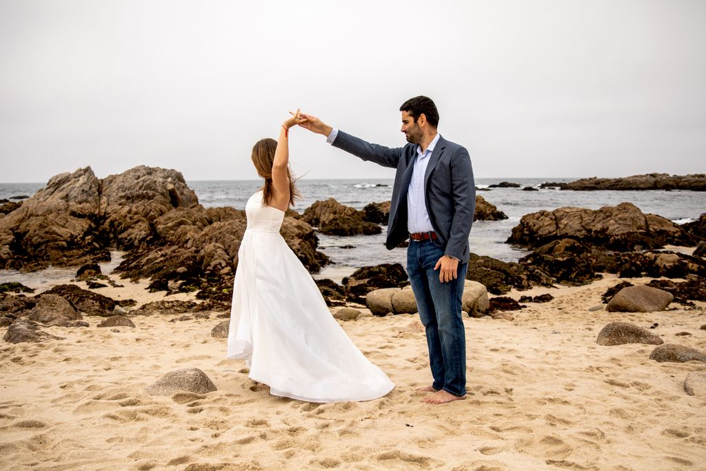An Engagement in Monterey County