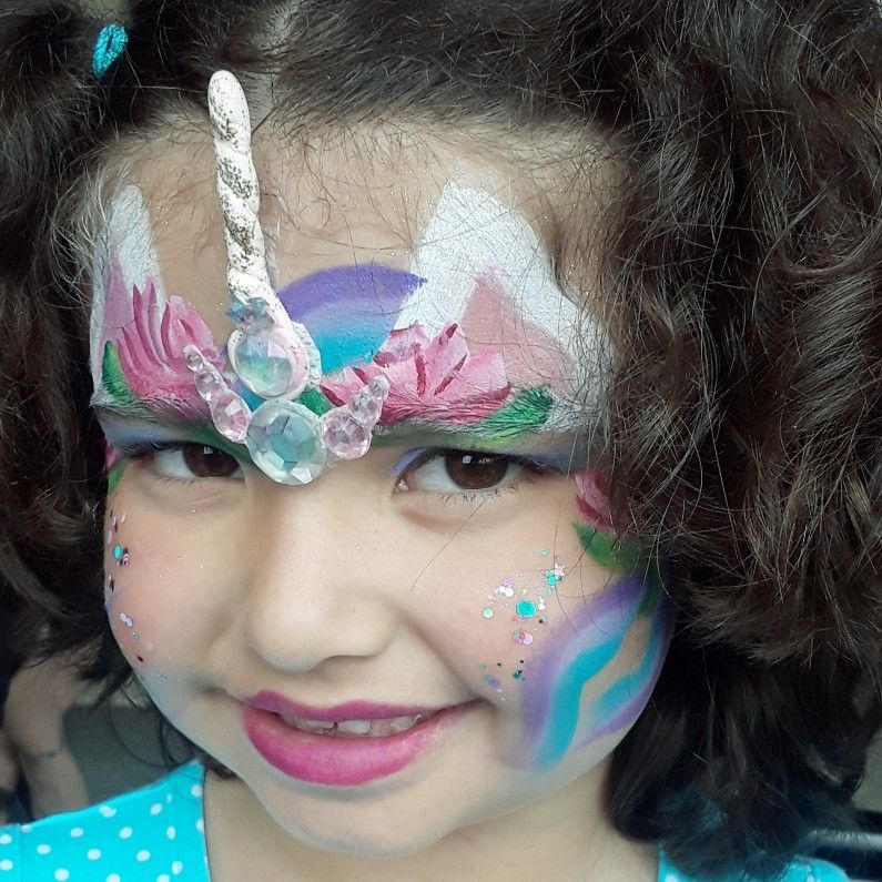 Shirley Girl Face Painting
