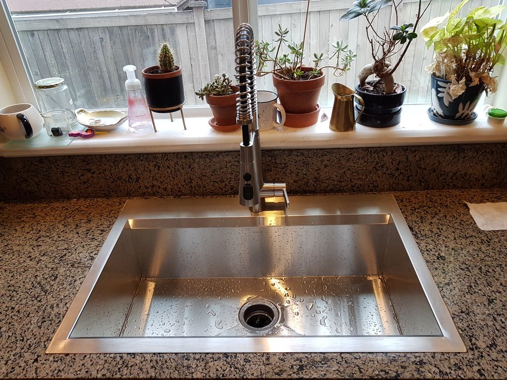 Sink and faucet replacement