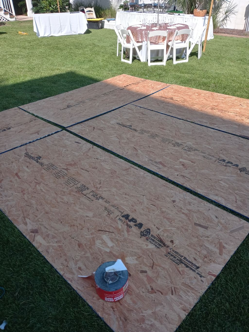 Built my own dance 12 foot dance floor- Let me build yours