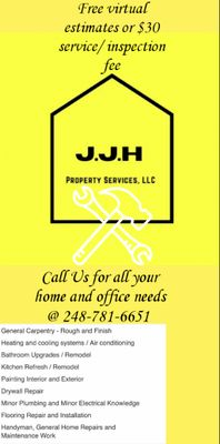 Avatar for J.J.H Property Services LLC