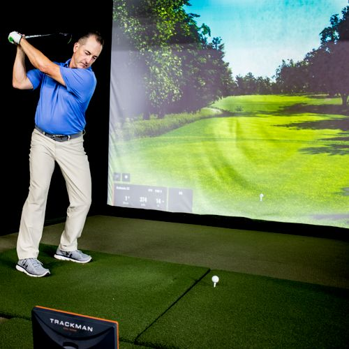 Trackman Virtual Golf