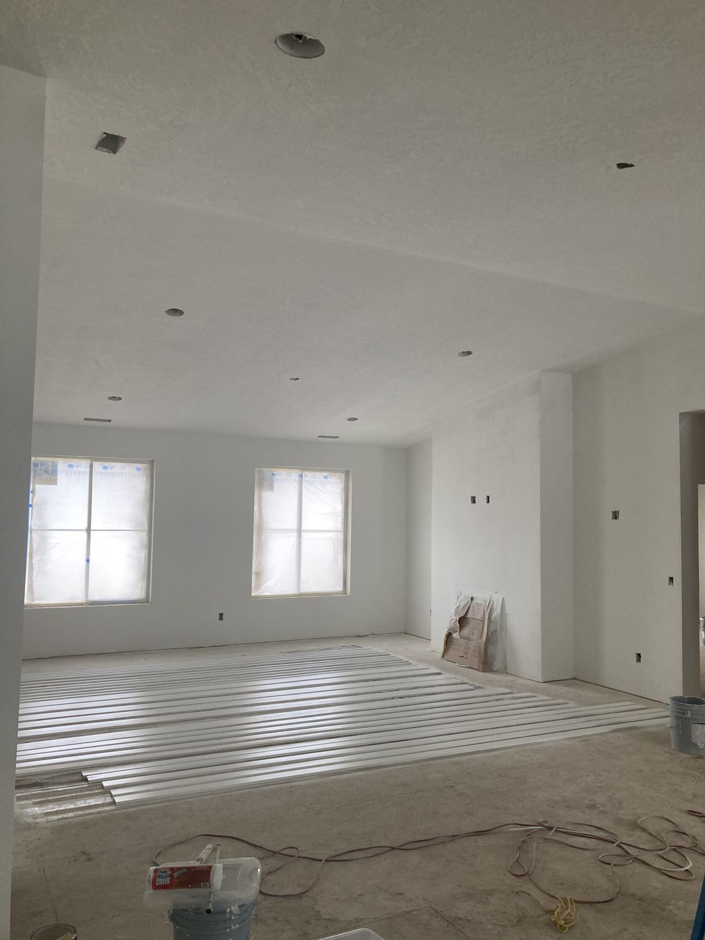 New Home Interior Paint 3112 Square Feet
