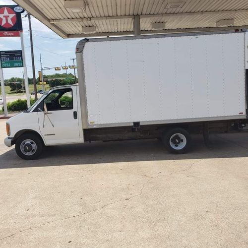 Our box truck will hold plus anchor appliances, security safes, and pianos