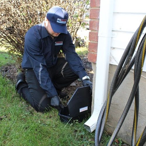 """Exterior rodent proofing and control """"we provide commercial and residential rodent proofing services """""""