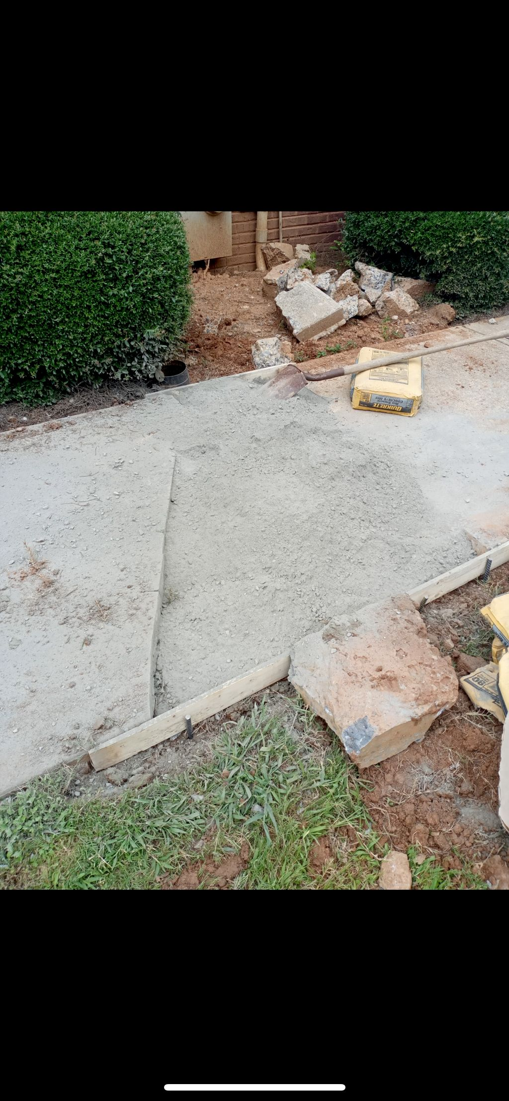 Seal coat and concrete repair
