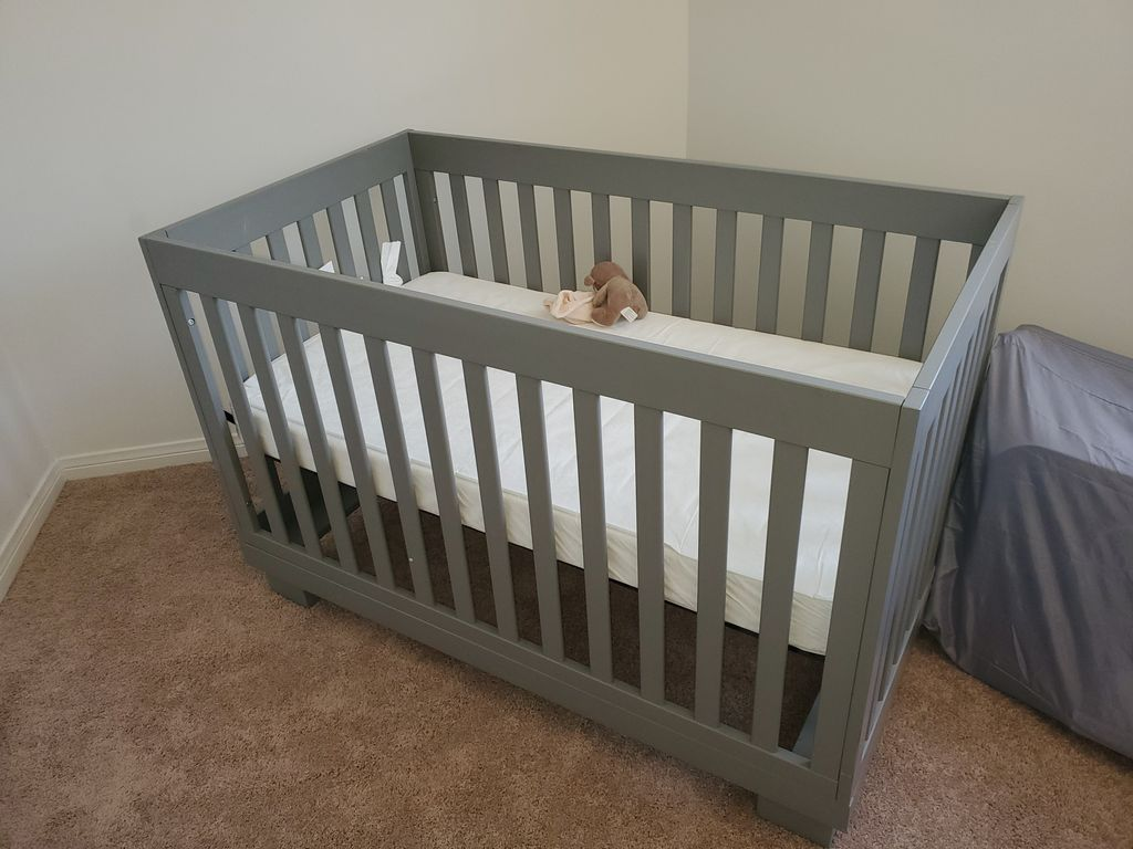 Crib & Twin Bed assembly