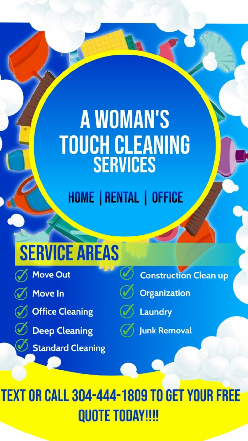 A Woman's Touch 🧹 and Organizing Services👜
