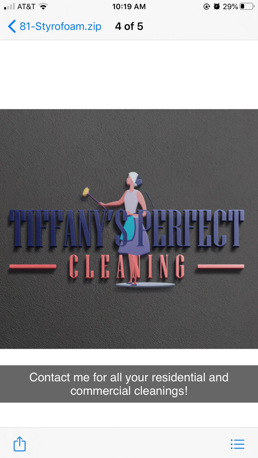 Tiffany's Perfect Cleaning