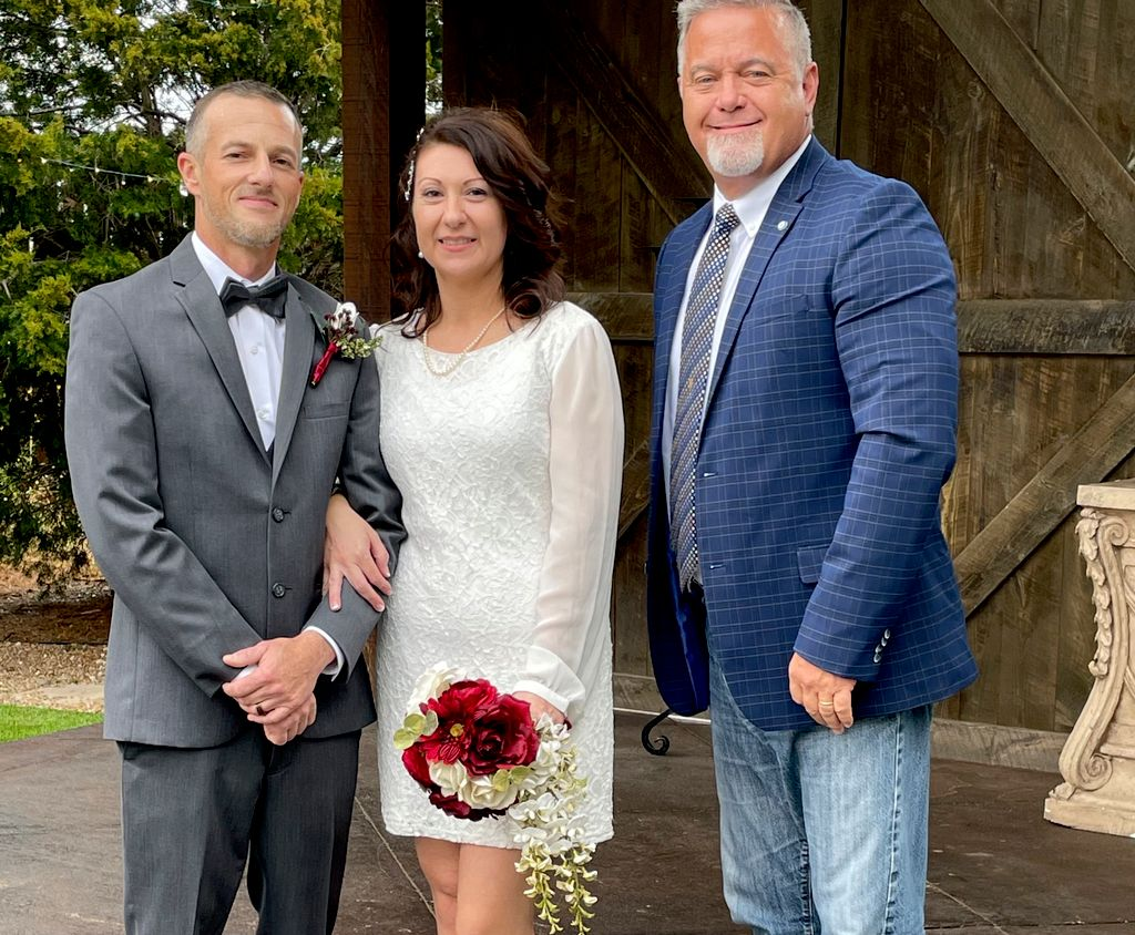 Olmsted and Blevins Wedding
