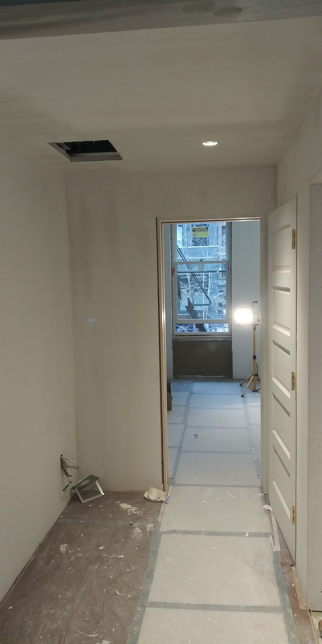 skim coating and painting 2 bedrooms apt