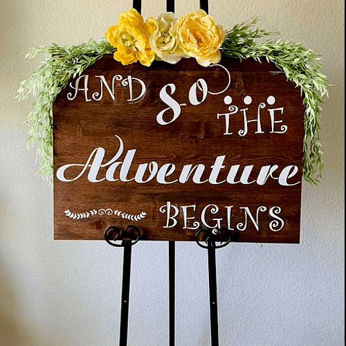 We also have wedding signs!