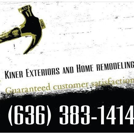 Kiner Exteriors and home remodeling