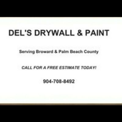 Avatar for Del's Drywall & Paint