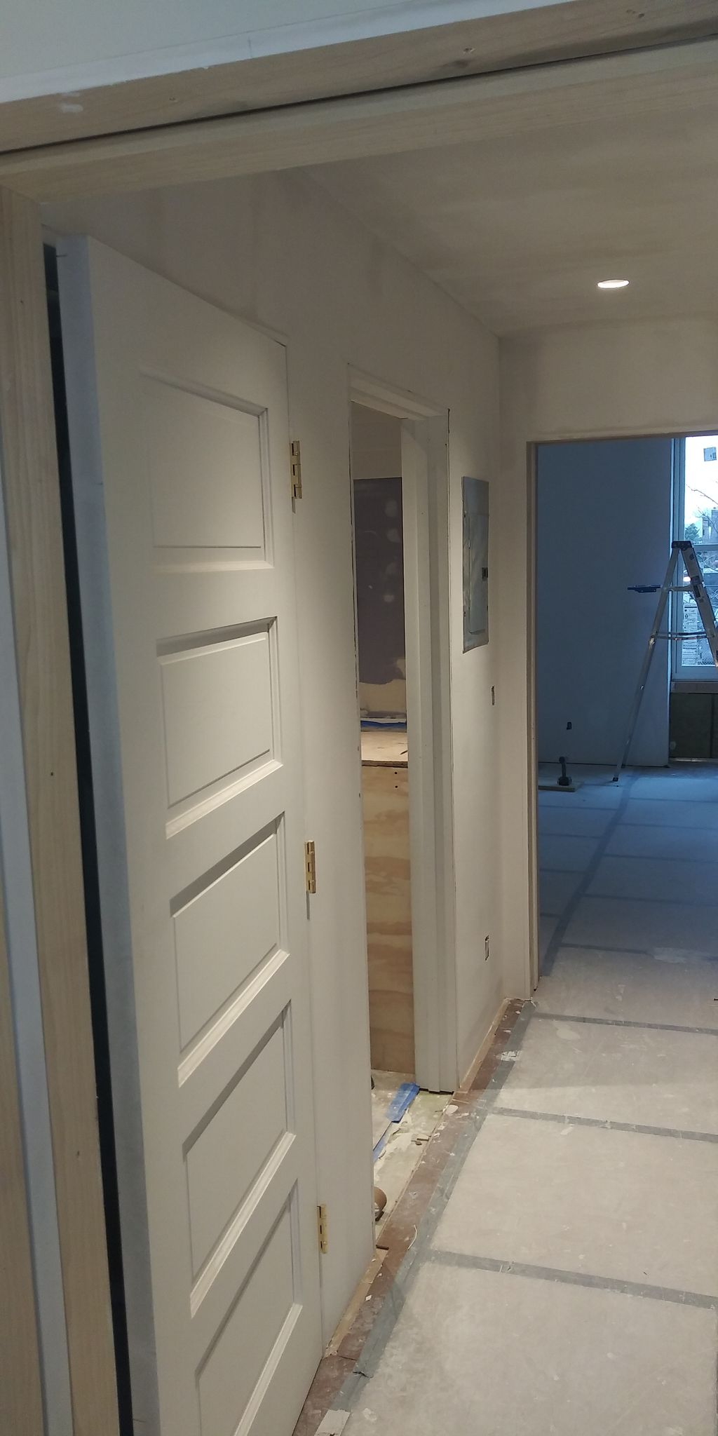 Interior skim coating