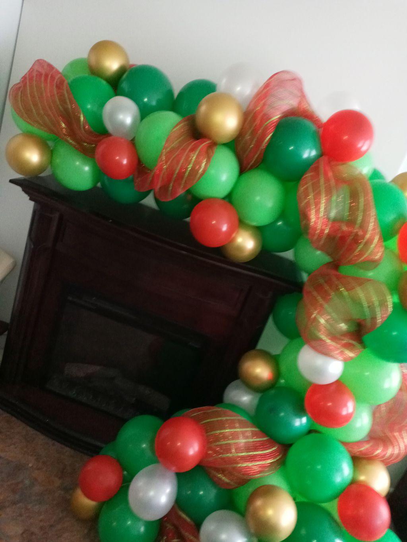 Christmas set up