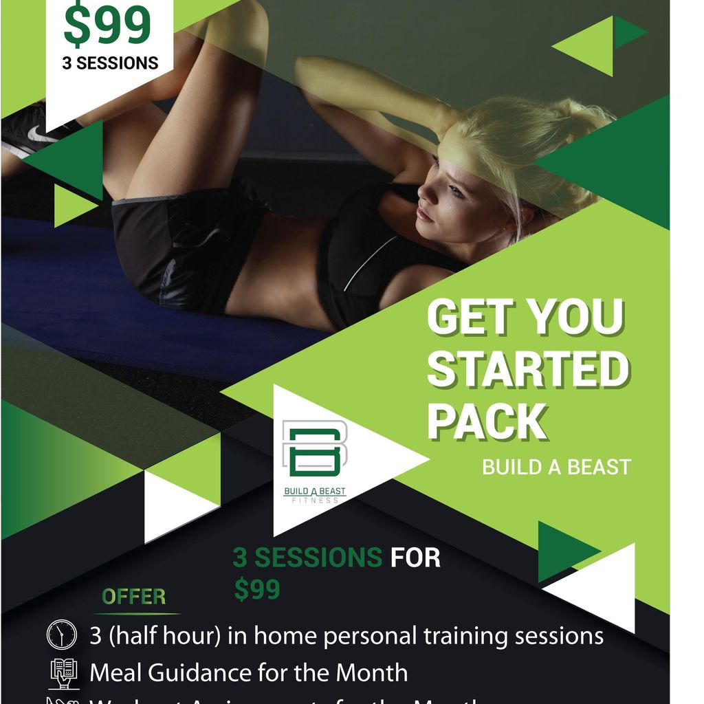 $50 In Home Personal Training