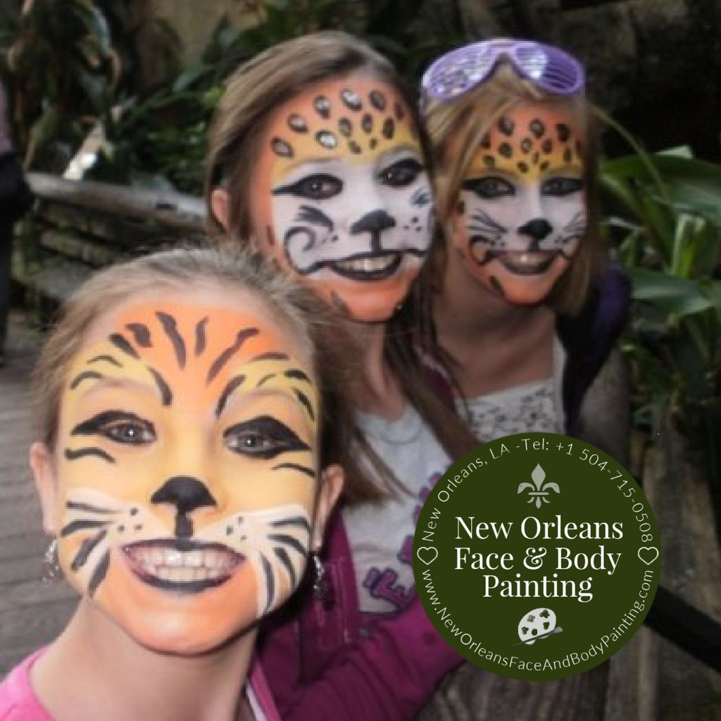 Face Painting for Kids or Family Party