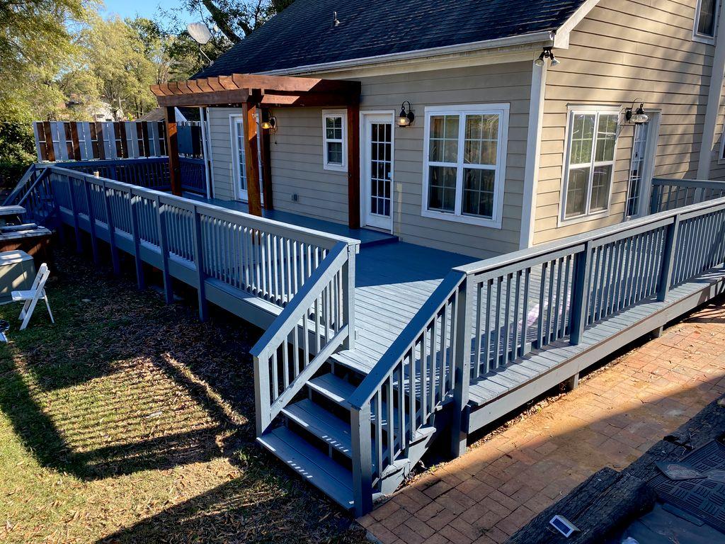 Villa Heights Deck Transformation