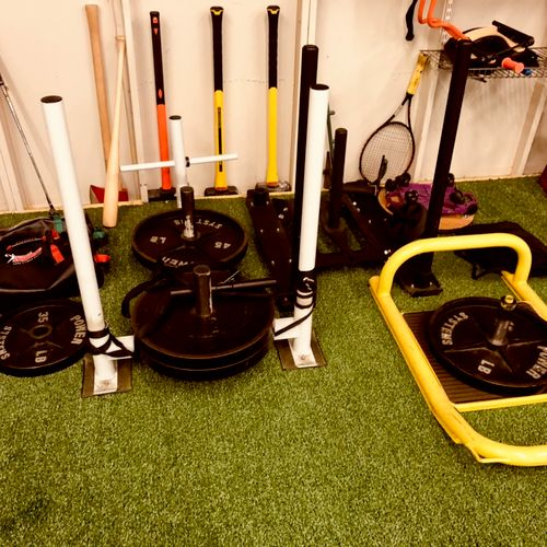 Sleds, hammers, heavy balls and much more! (Bellevue location)