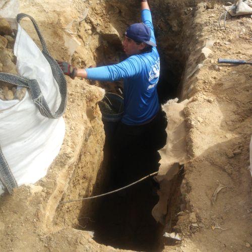 Property sewer repair