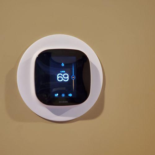 Ecobee Thermostat Installation