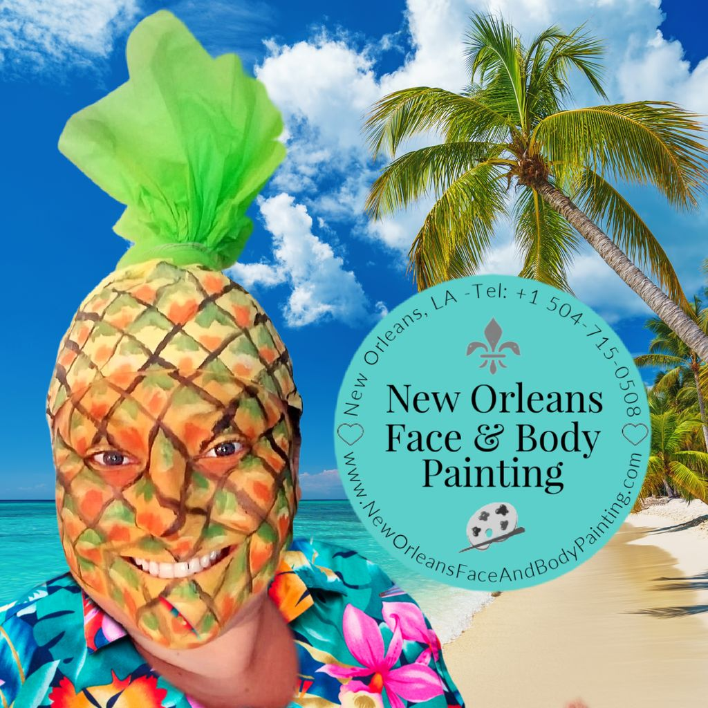 New Orleans Face & Body Painting