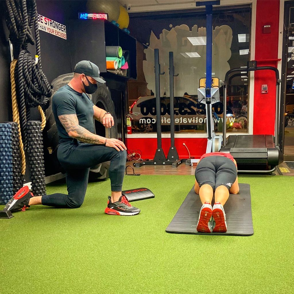 Johnny Nardone fitness