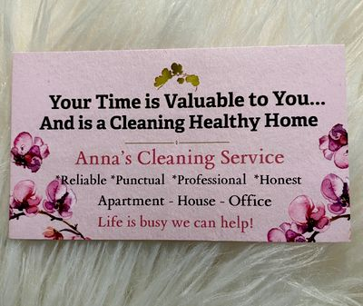 Avatar for Anna's Cleaning Service