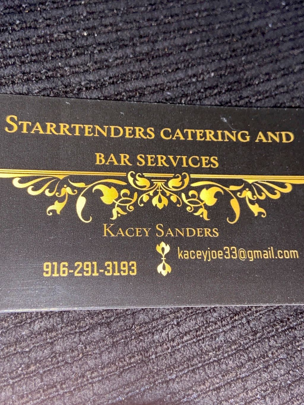 Starrtenders catering and bar service