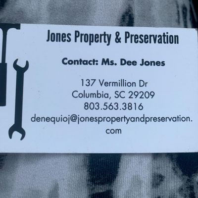 Avatar for Jones Property and Preservation