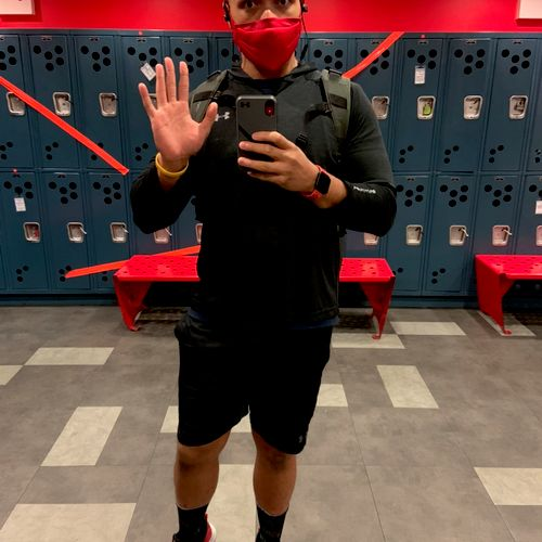 Masked up for your safety and mine 👋🏽