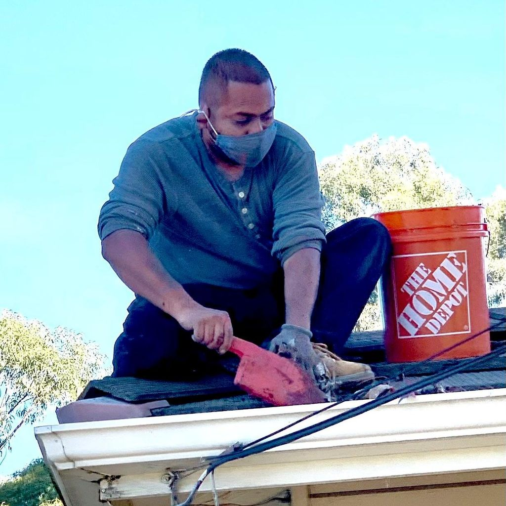 sdgutter services and roof repair . Ok