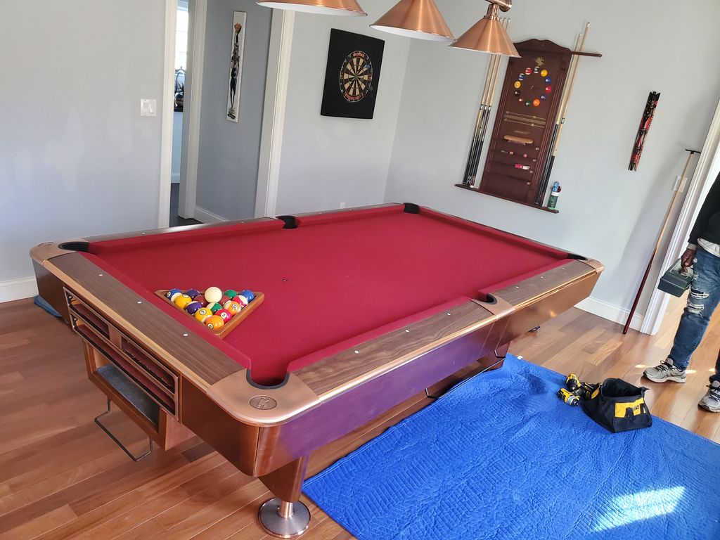 Pool table Move to Different location