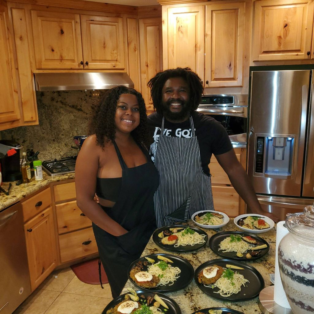 Chef Perry-Edwards  & Chef Pierre