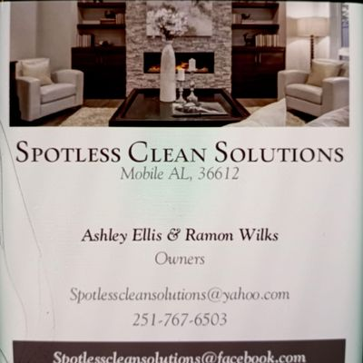 Avatar for Spotless Clean Solutions