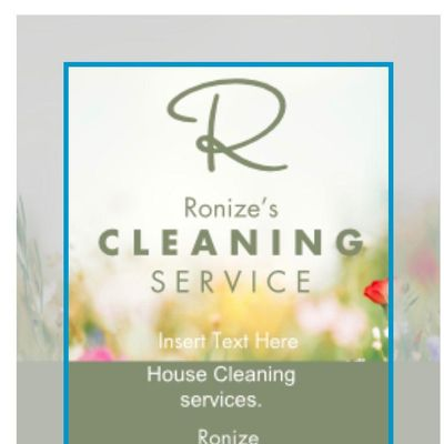 Avatar for Ronize's cleaning services.