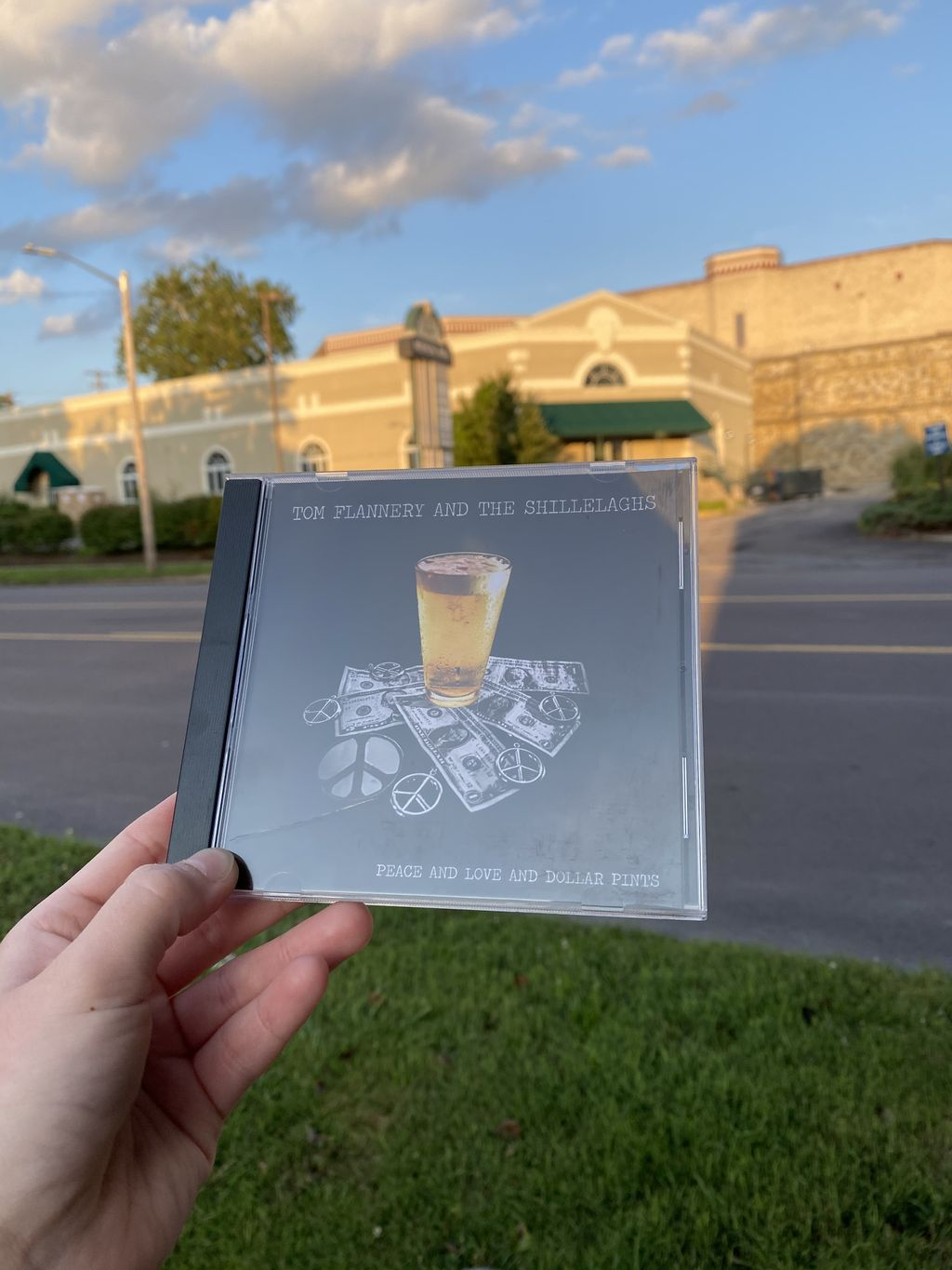 CD cover for Tom Flannery and the Shillelaghs