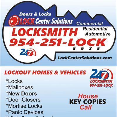 Avatar for Lock Center Solutions