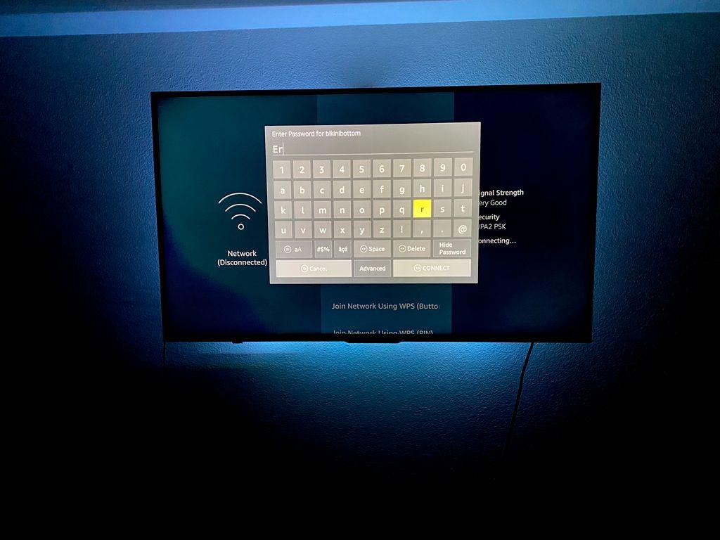 Tv mount install